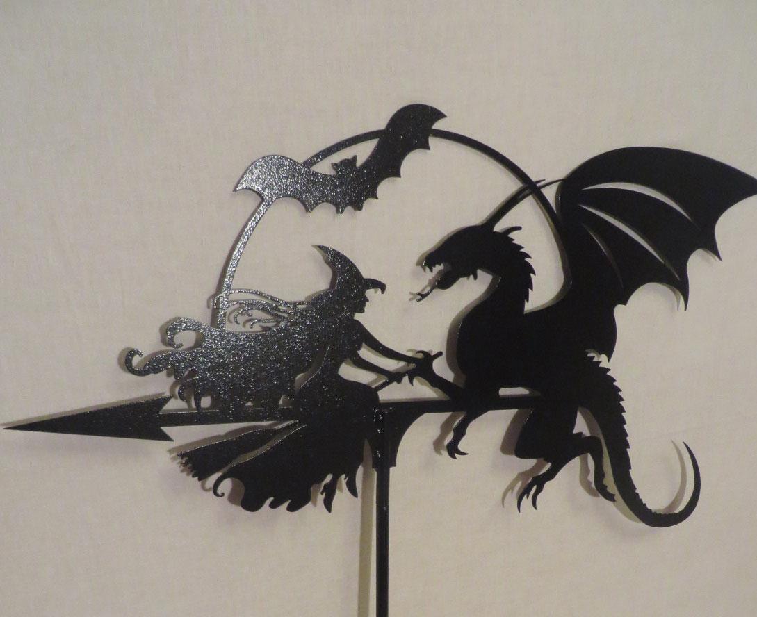 флюгер дракон фото
